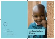 Asylum Seekers Centre brochure