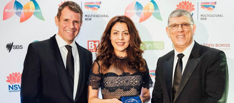 Saba Vasefi awarded NSW Multicultural Community Medal