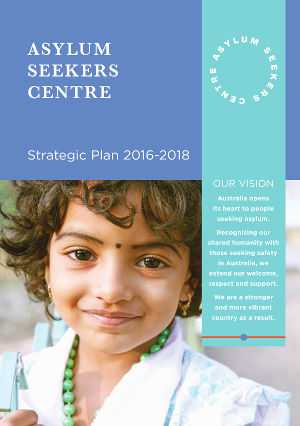 Asylum Seekers Centre Strategic Plan Cover