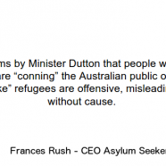 Response to Minister Dutton – ASC Media Release