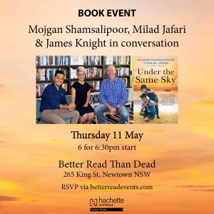 UTSS Sydney Book Event - Under the Same Sky
