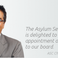New Board Appointment at Asylum Seekers Centre