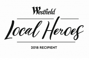 Westfield Local Heroes 2018 Recipient