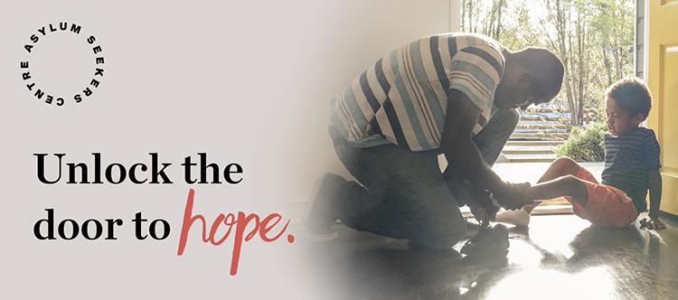 Unlock the door to hope